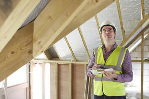 Building inspectors often create thorough documentation of a structure's condition, including notes on the moisture content of building materials such as wood or concrete.