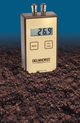 The KS D1 is a purpose-built soil moisture meter. With this device, knowing how much moisture your plants are getting from the soil is fast and easy.
