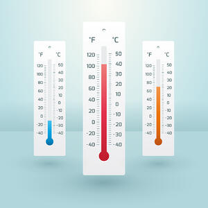 Extreme temperatures both high and low can affect different moisture meters in different ways.