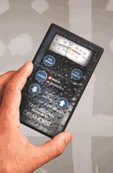 The Tech Scan Meter is a great way to rapidly check for moisture.