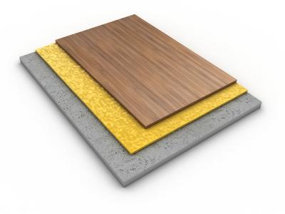 Floor and subfloor