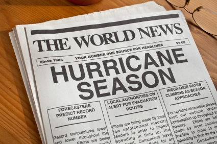 hurricane season newspaper