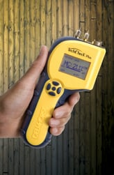 Not every moisture meter can store readings, but it is a handy function to have for certain.