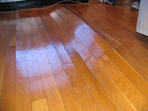 When wood flooring isn't at its EMC during installation, it can warp, crack, or buckle.