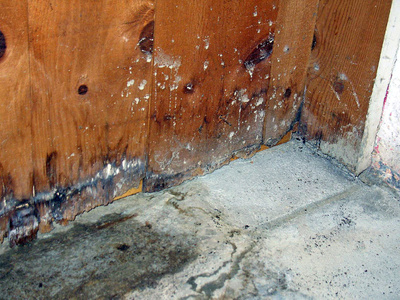 Wood rotting or metal rusting are common effects of excess moisture accumulation