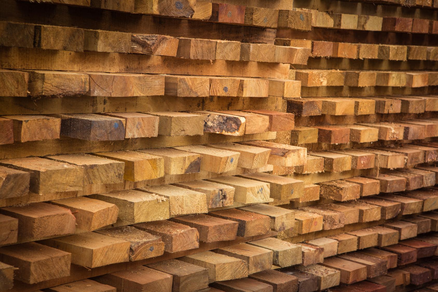 Acclimation of Wood