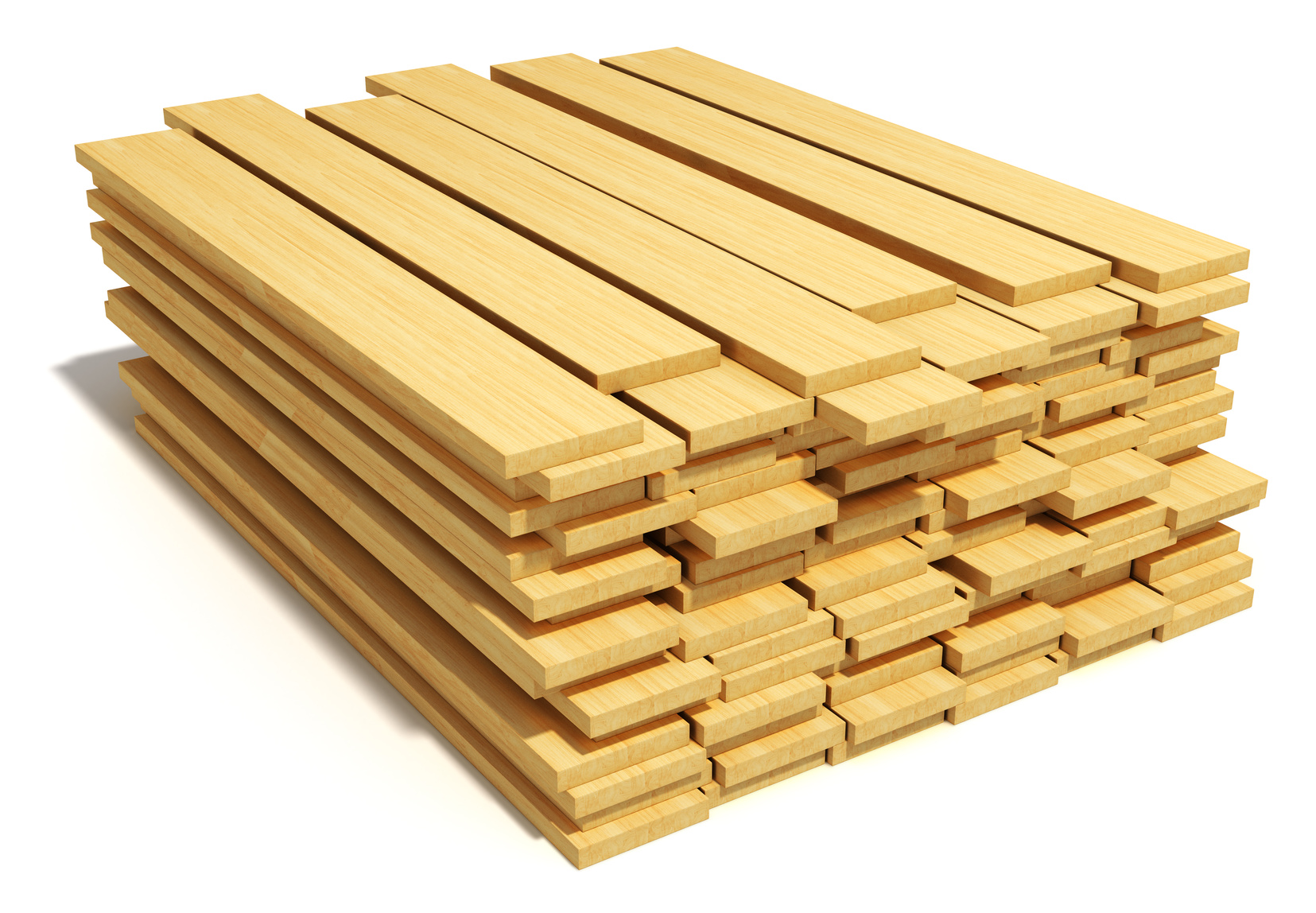 Storing your wood on the jobsite so that it can acclimate to the indoor conditions prior to installation can help ensure that is doesn't expand/contract later, avoiding callbacks.