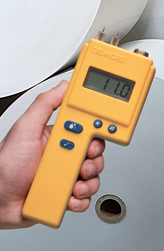 Different moisture meters have different uses. For example, pin-type meters can be used for checking loosely-packed or thin materials that a pinless meter can't check.
