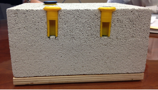 Thermo-hygrometers with in-situ probes are a must for concrete installations.