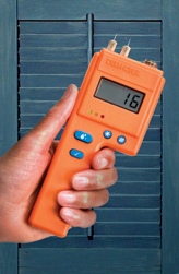 Moisture meters, like any electronic device, can be sensitive to extreme temperatures.