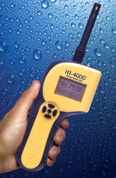 Thermo-Hygrometers such as the HT 4000 are a must for restoration work.