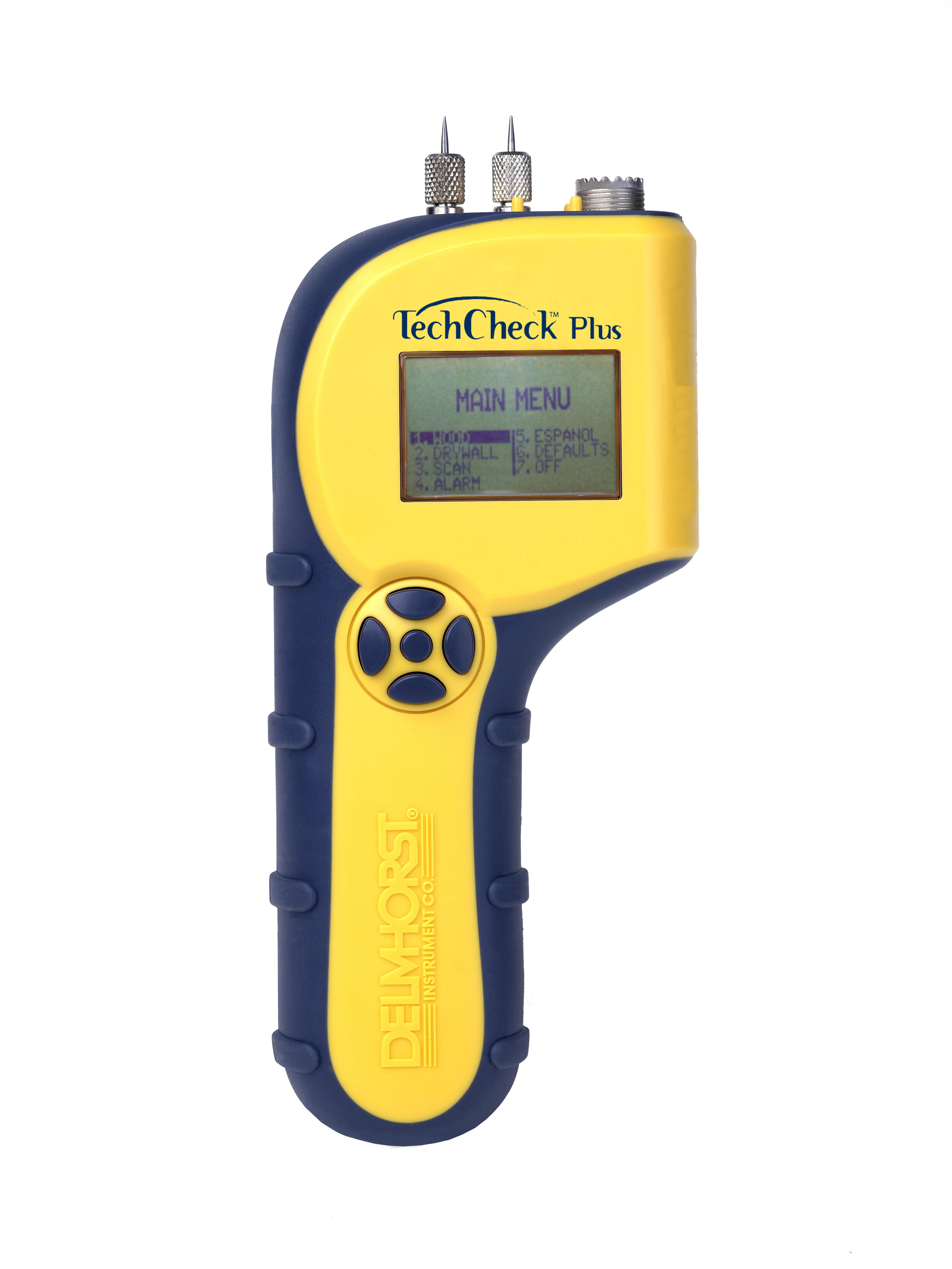 TechCheck Plus moisture meter.