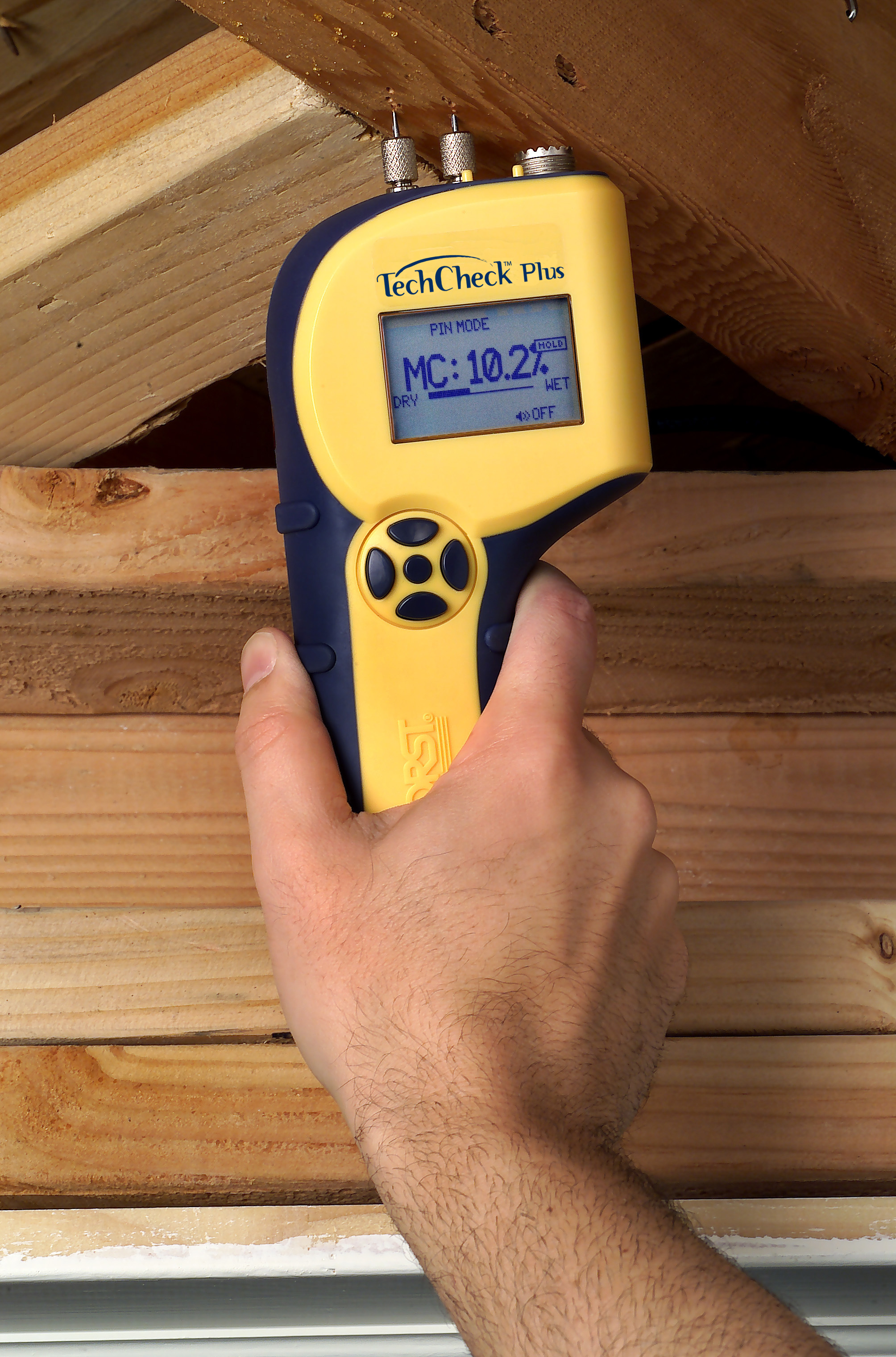 A high-end moisture meter can be a great tool... if used correctly.