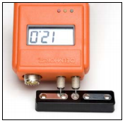 The Moisture Content Standard is a device that can give you a quick and reliable test of your moisture meter's accuracy.
