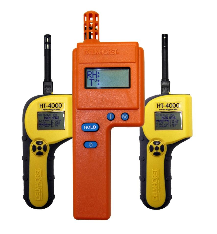 Multiple moisture meters