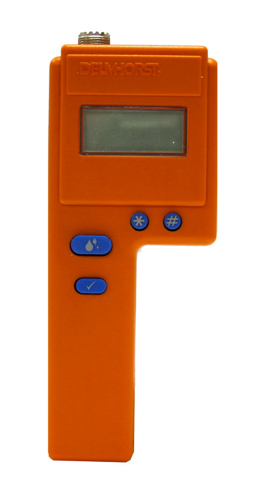 how to use delmhorst moisture meter