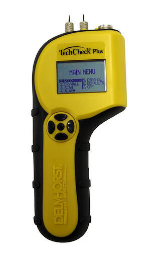 meters such as the TechCheck Plus are ideal tools for measuring moisture in insulation, when you have the right extended-length probes, of course.