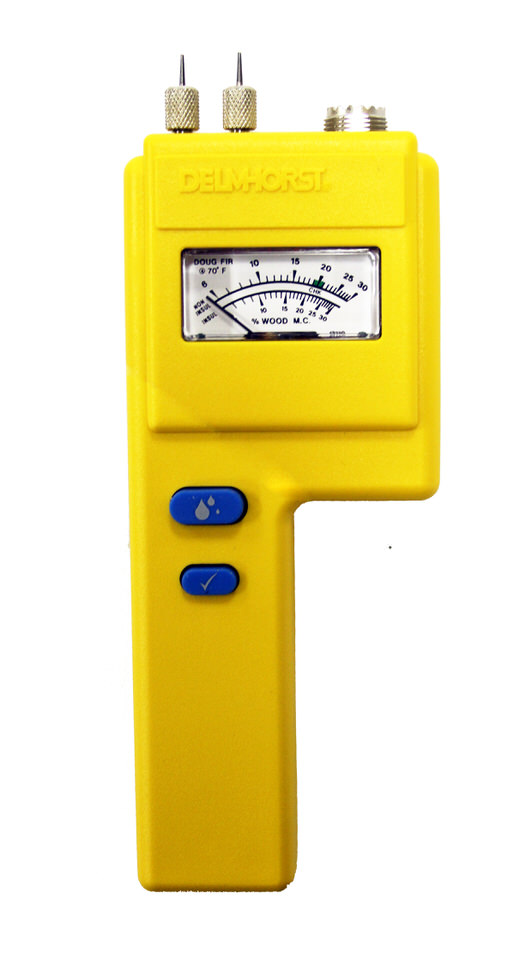 Simple moisture meters such as the J-4 are more than enough for most amateur woodworking demands.