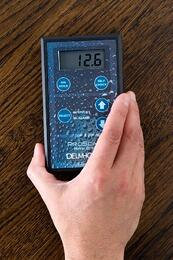 Proscan pinless moisture meters are great for quickly checking moisture in wood flooring.